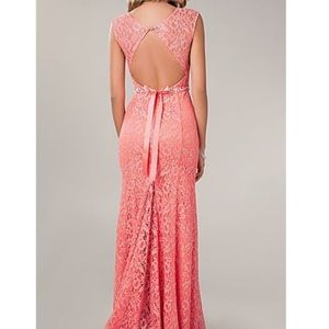 Coral Prom/Evening dress Juniors size 13